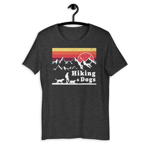 Hiking And Dogs Short-Sleeve T-Shirt