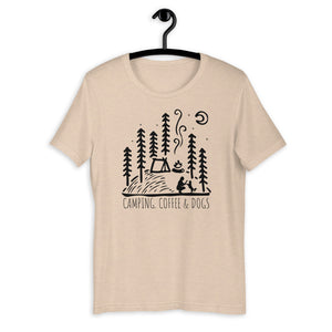 hiking dog womens shirt