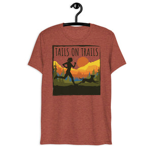 tails on trails womens shirt