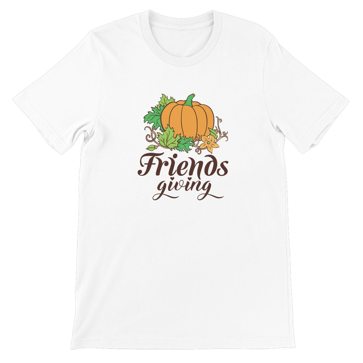 Friendsgiving Unisex Short Sleeve T-Shirt