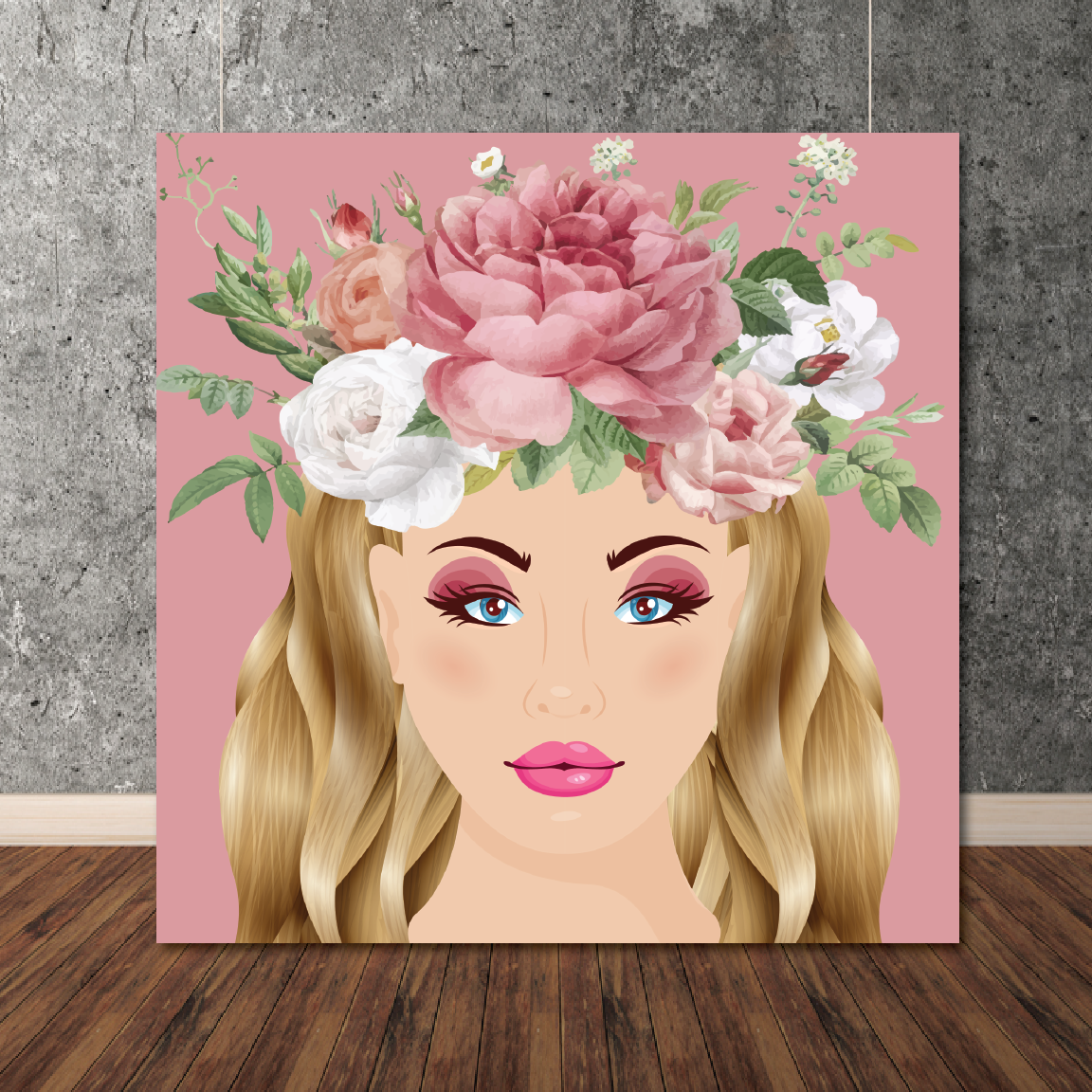 Rose Fairy Canvas