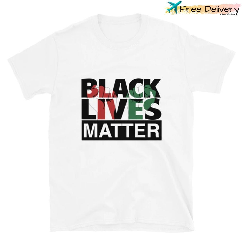 Black Lives Matter T-Shirt White