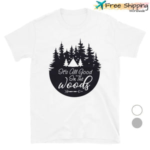 Camping in the Woods - T-Shirt, Unisex