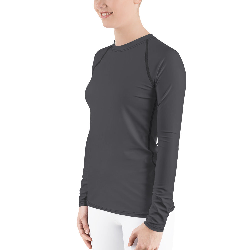 Dark Gray Women's Rash Guard