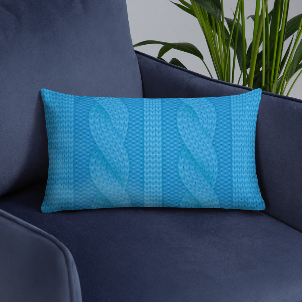 Wool Pattern Basic Pillow