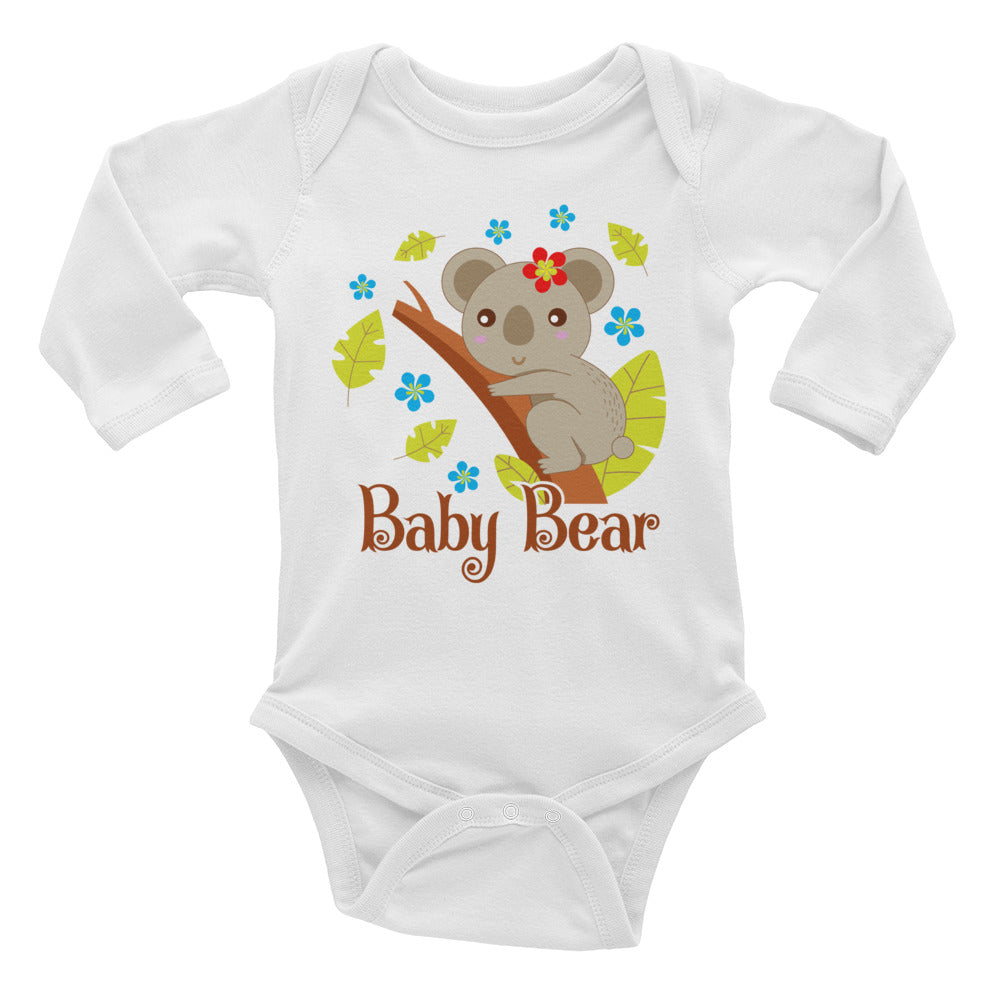 Baby Bear Infant Long Sleeve Bodysuit