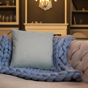 Love Gray Throw Pillow