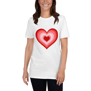 Red Heart T-Shirt for Valentine's Day