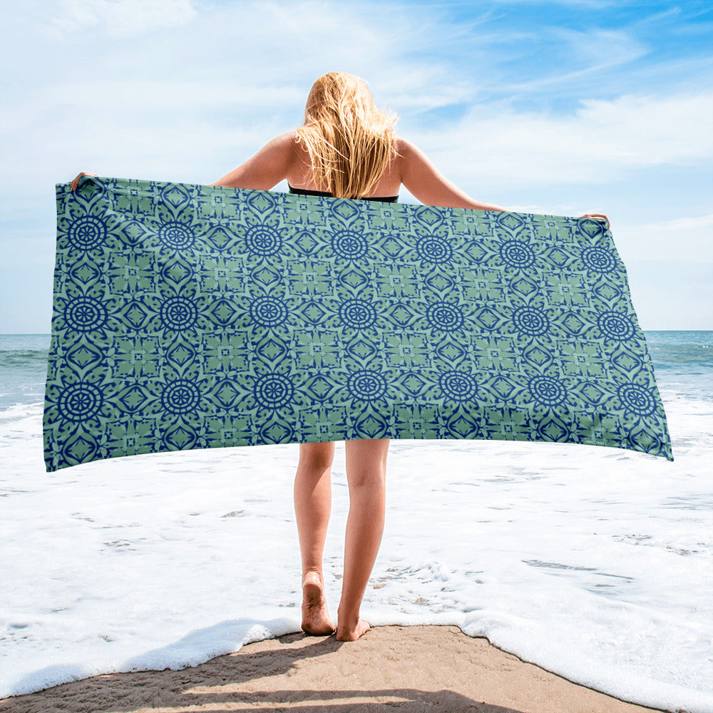 Blue Mint Towel
