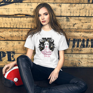 Cute Girl Graphic T-Shirt