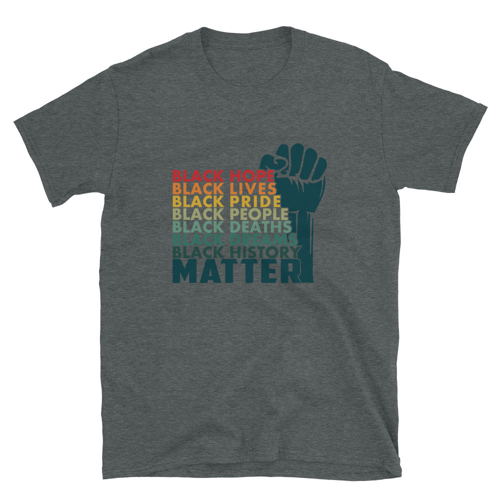 Black Lives Matter T-Shirt - Unisex