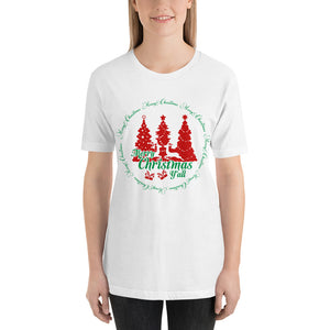 Merry Christmas Yall T-Shirt for Women