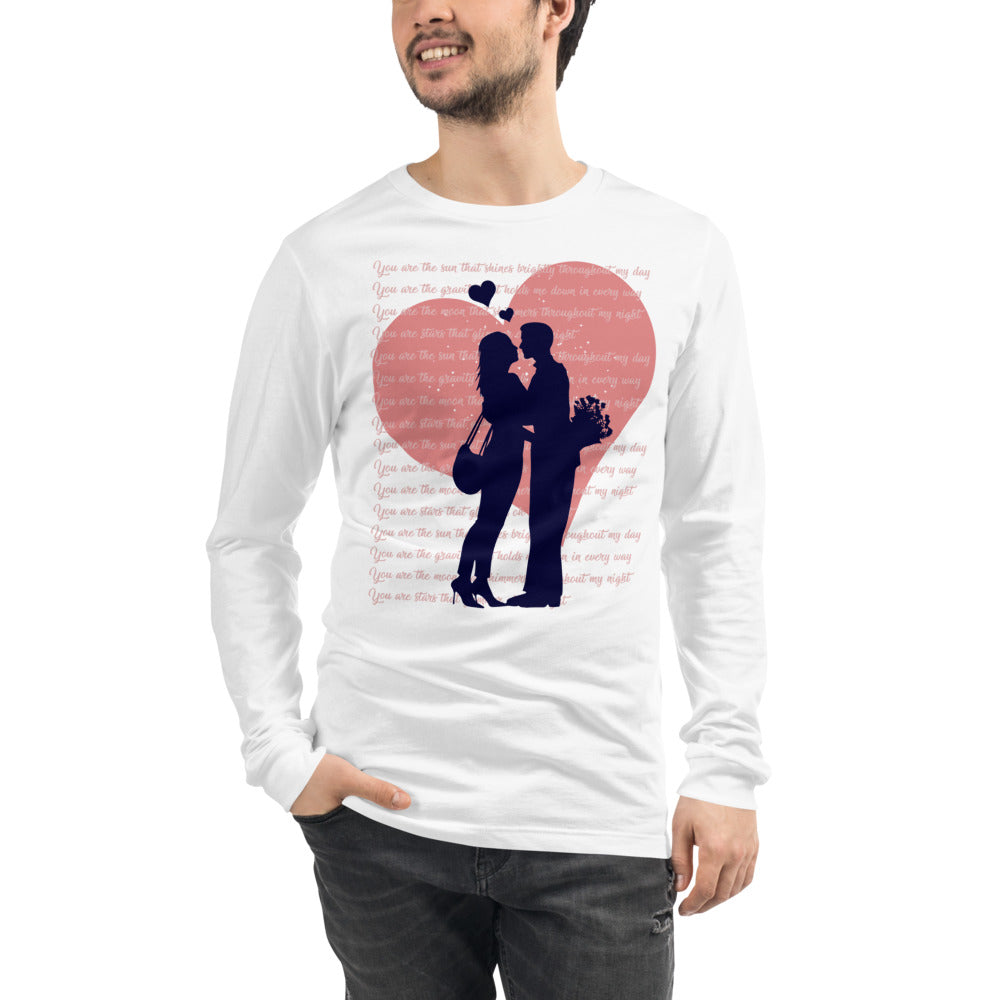 Valentine Couple Long Sleeve T-Shirt for Women