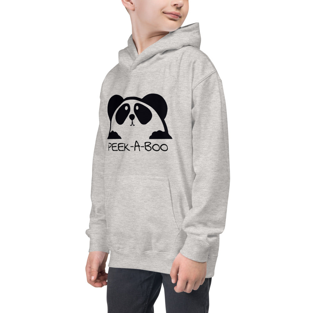 Bear Peekaboo Unisex Hoodie for Boys and Girls