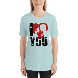 Valentine's Day Ice Blue T-Shirt