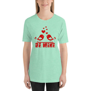 Be Mine Valentine's Day Mint T-Shirt