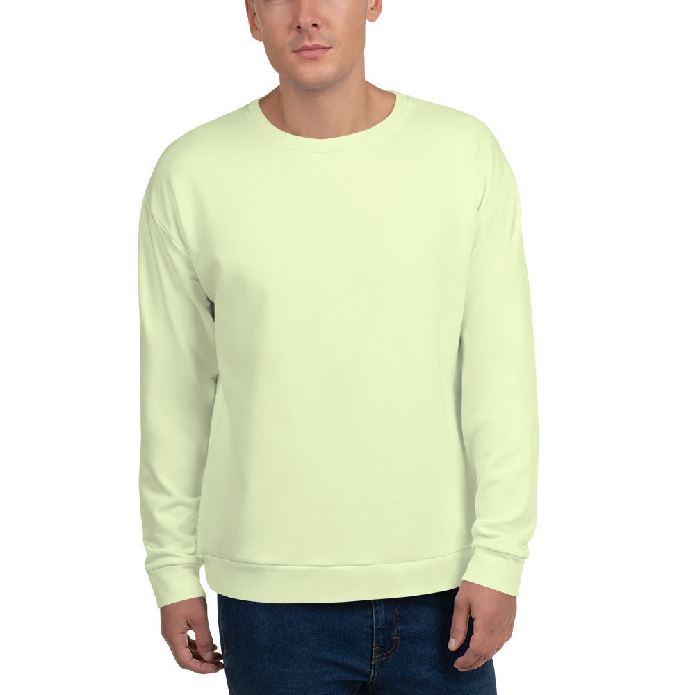 Vanilla Color Unisex Sweatshirt