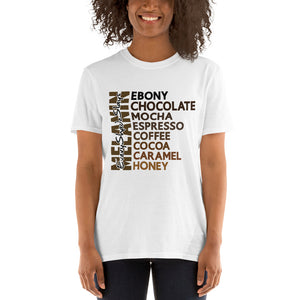 Black Women melanin t-shirt