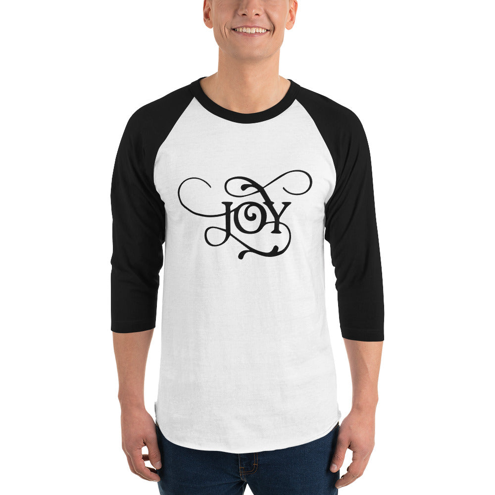 Joy 3/4 Sleeve Raglan Shirt for Men