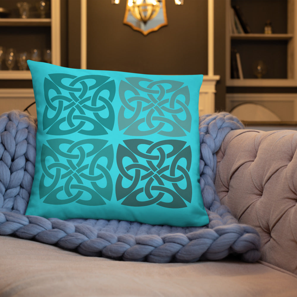 Traditional Abstract Pattern Throw Pillows