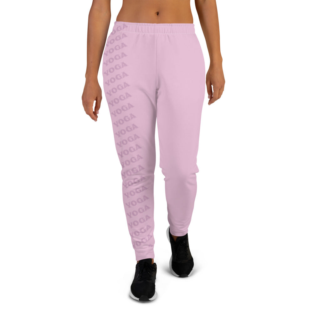Pink YOGA Joggers for Women