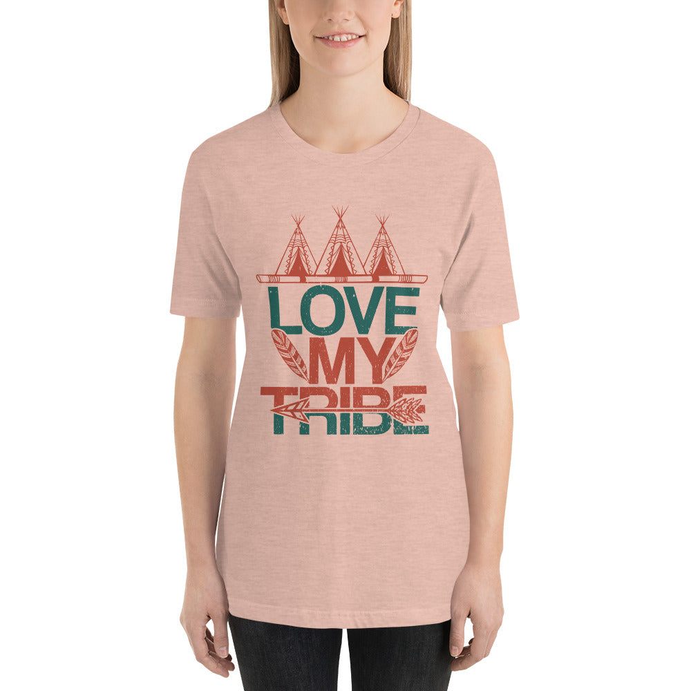 Vintage Love My Tribe T-Shirt for Women