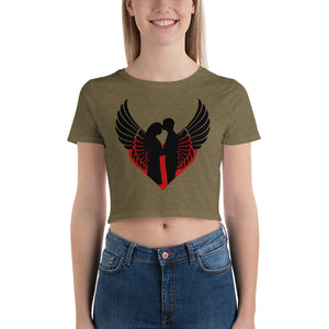 Crop Top T-Shirt for Valentine's Day