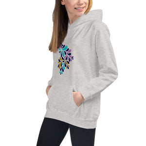 Peacock Pink Hoodies for Girls