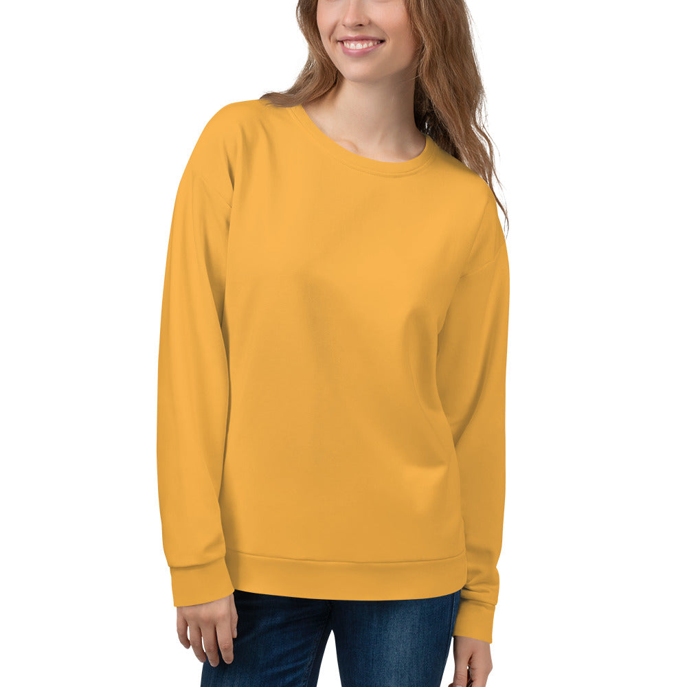 Light Orange Sweatshirt for Women