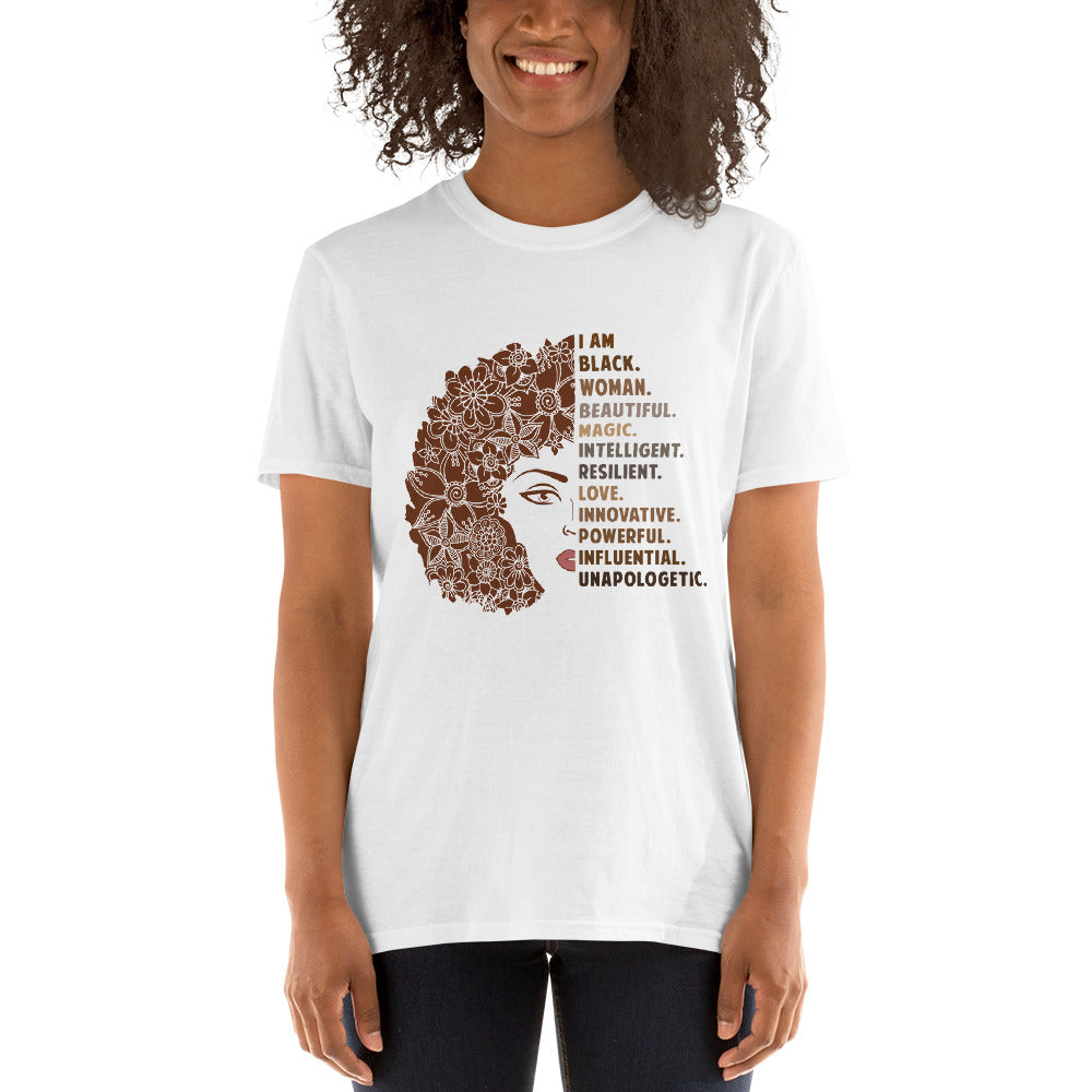 Afro Black Women T-Shirt