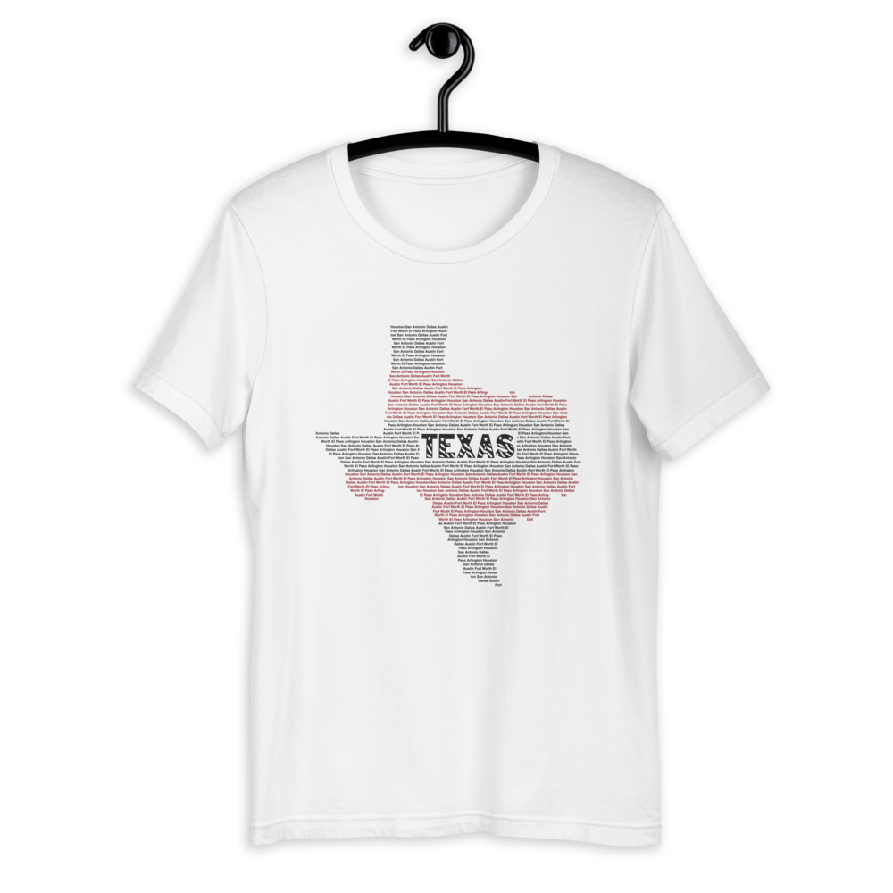 Texas Typo Short-Sleeve T-Shirt for Men