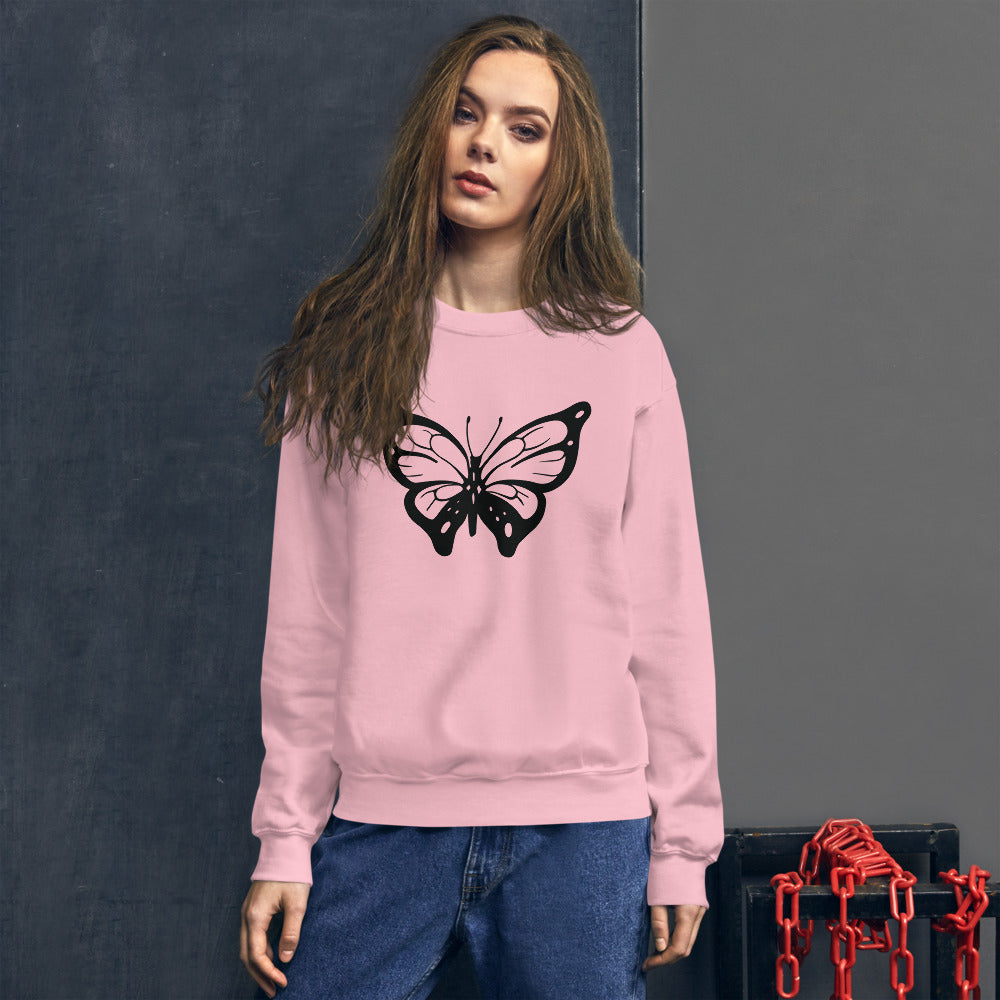 Butterfly Sweatshirt for Women