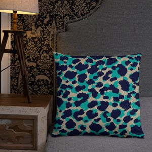 Animal Print Throw Pillow