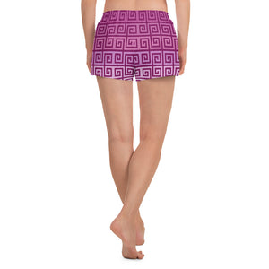 Pink Seamless Pattern Women's Shorts