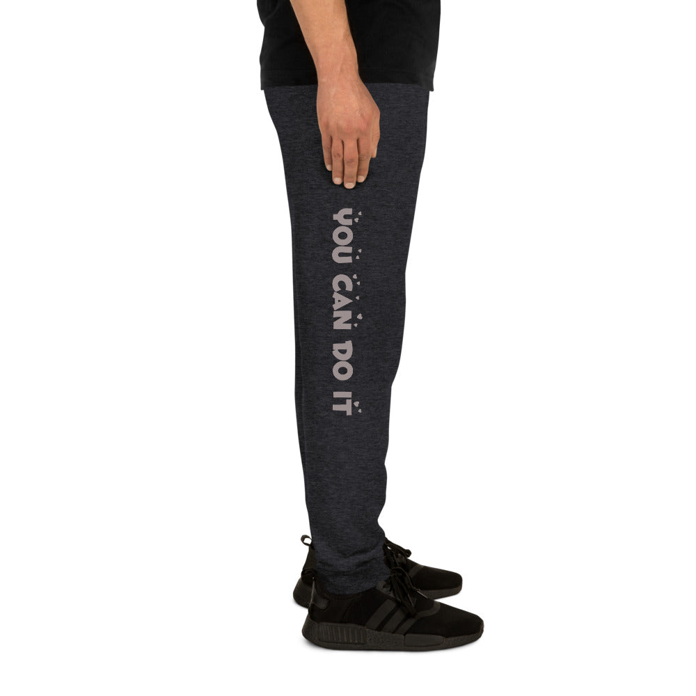 "Joggers for Men - ""You can Do It"""