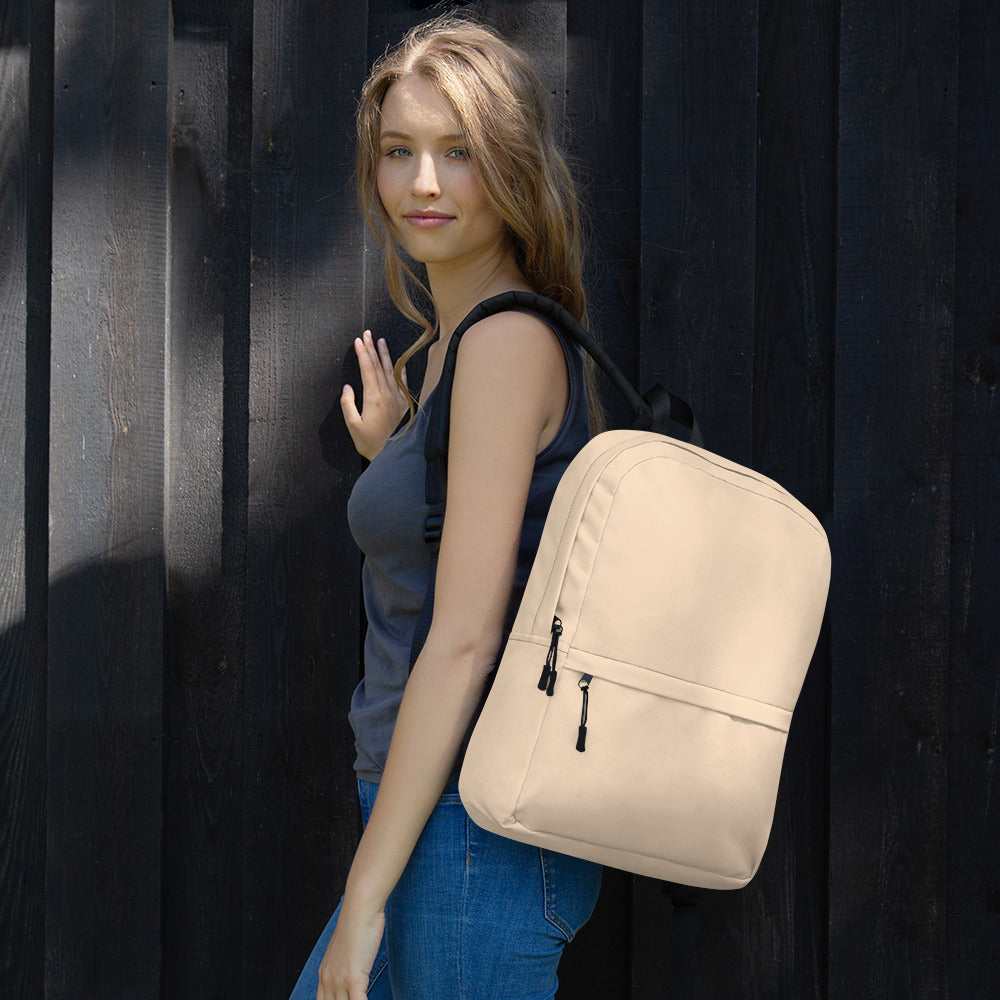 Bisque Color Backpack