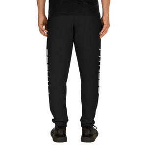 Black Fitness Joggers for Men