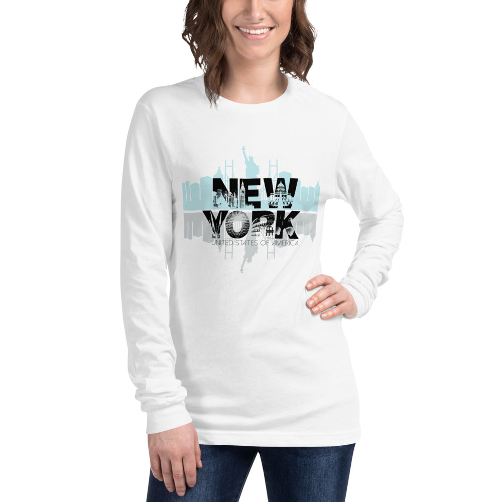 New York Women's Long Sleeve Tee
