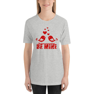 Be Mine Valentine's Day Grey T-Shirt