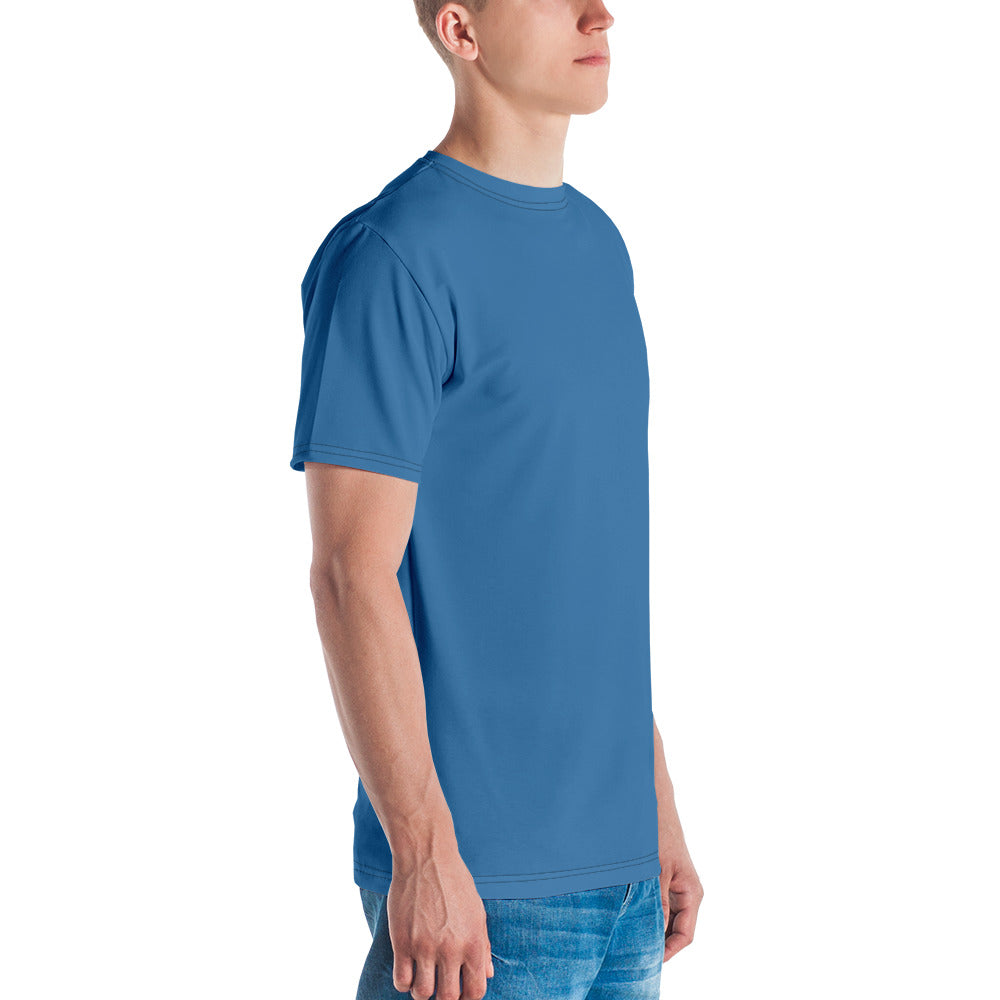 blue t shirts for mens blue abstract