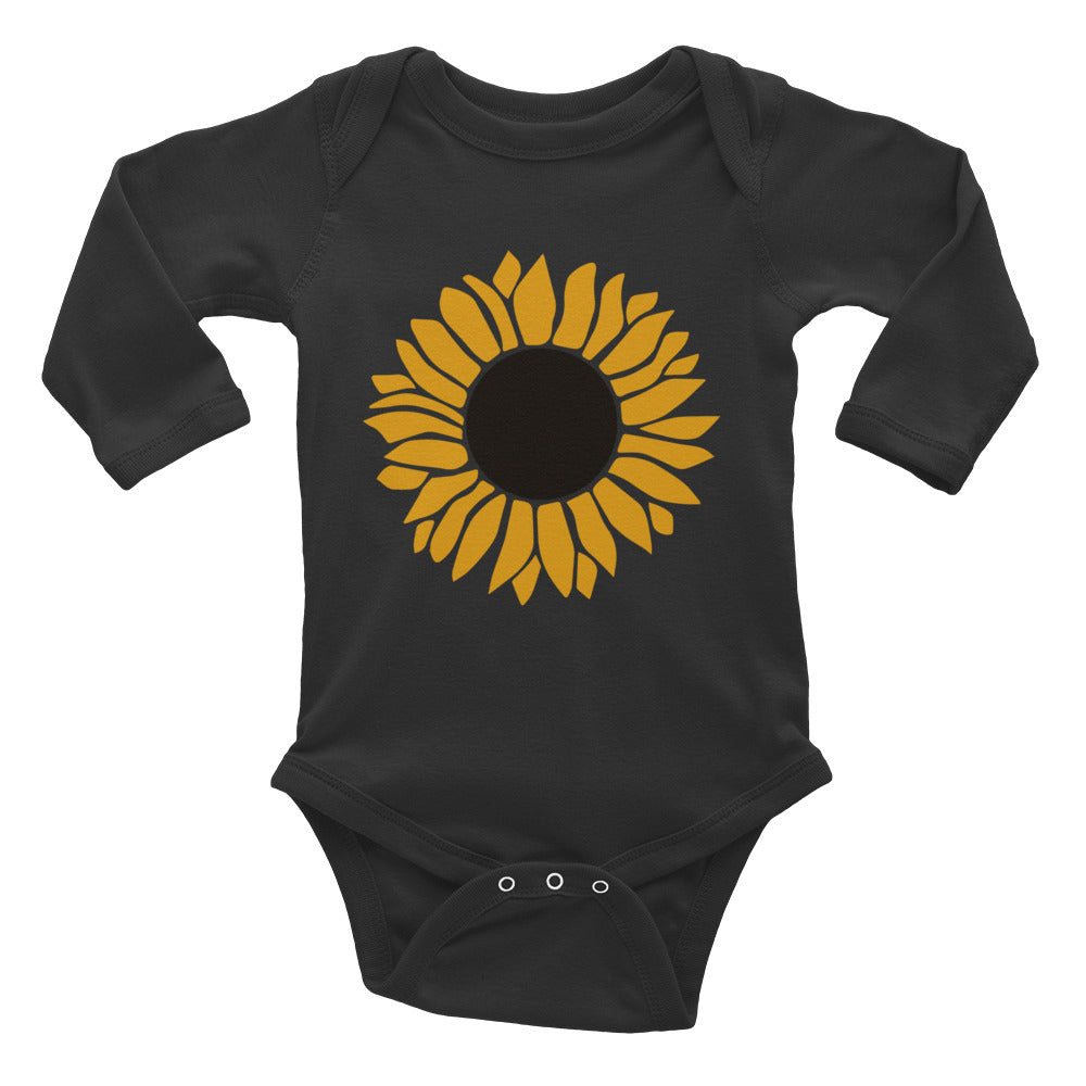 Sunflower Baby Long Sleeve Bodysuit