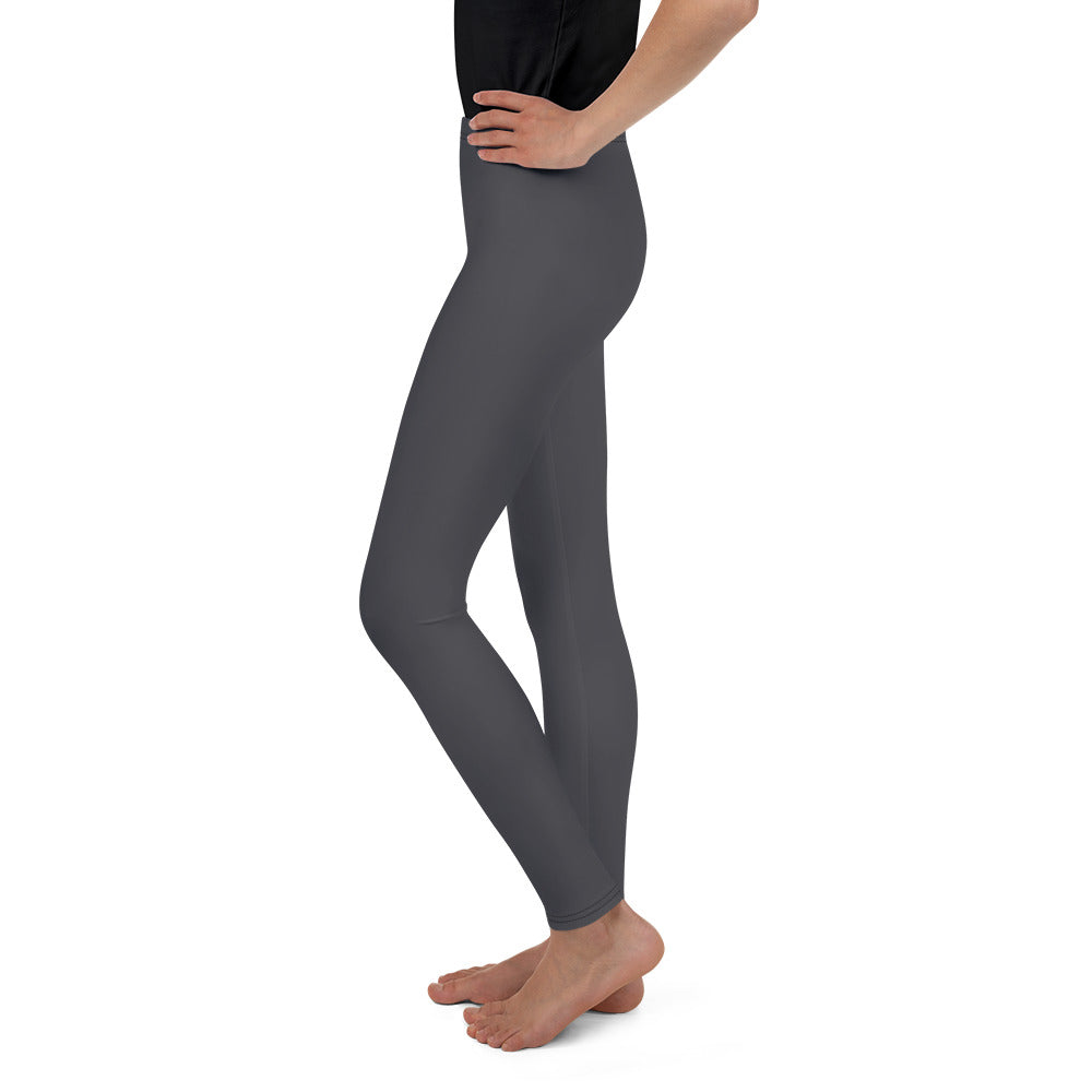 Grey Leggings for Girls Mynkoo.com