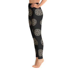 Mandala Pattern Yoga Leggings