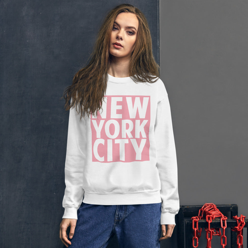 New York Sweatshirt Womens