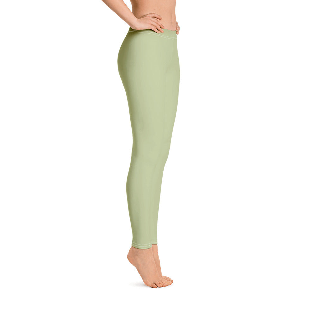Mint Green Leggings for Womens Right