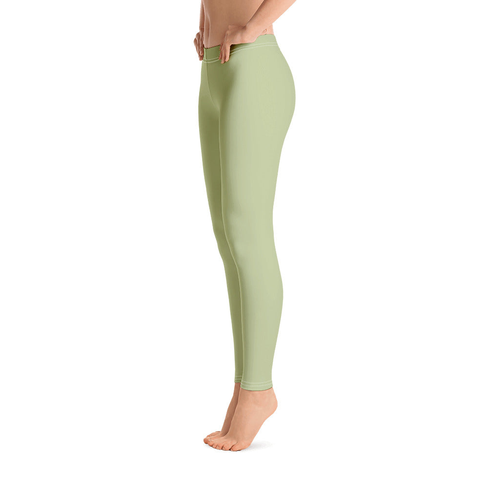 Mint Green Leggings for Womens Left