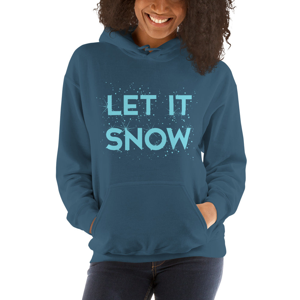 Let It Snow Women's Hoodie Pullover
