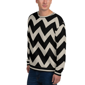 Black and Nude Color Sweatshirt for Men