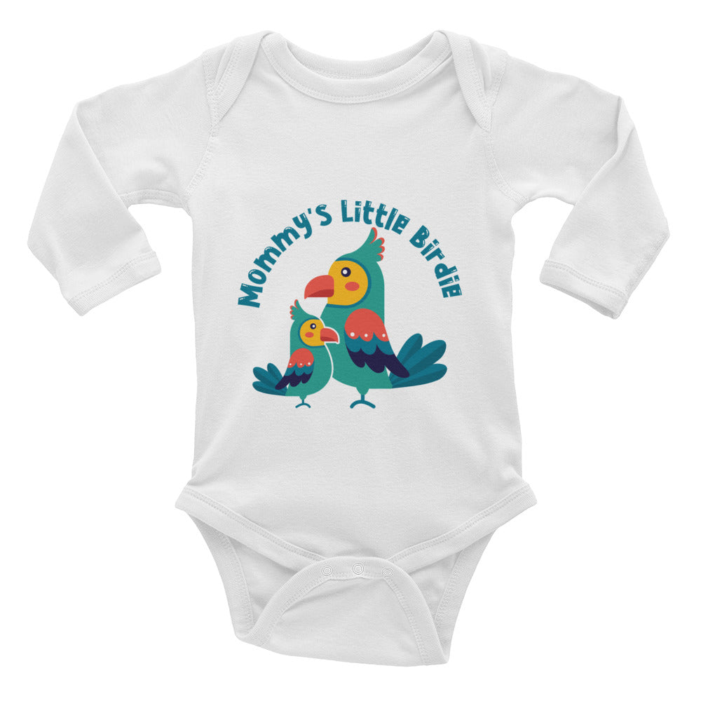 Mommy's Little Birdie Infant Long Sleeve Bodysuit
