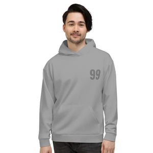Captain 99 Gray Sporty Hoodie for Men